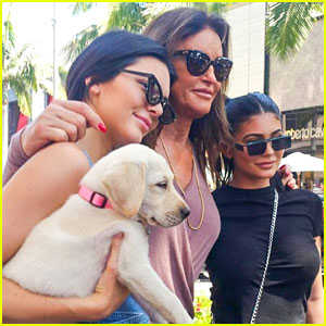 Kendall & Kylie Jenner Spend Father's Day at Car Show With Caitlyn Jenner