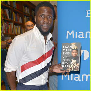 Kevin Hart Promotes His New Book in Miami