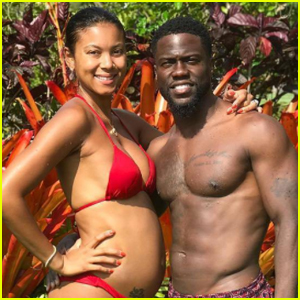 Kevin Hart's Wife Eniko Shows Off Her Growing Baby Bump!