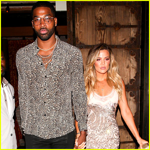 Khloe Kardashian's Boyfriend Tristan Thompson Joins Her at Surprise Birthday Party!