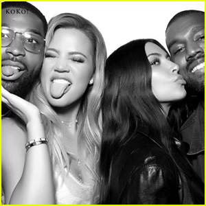 Kardashians Share Photo Booth Pics from Khloe's Birthday Party