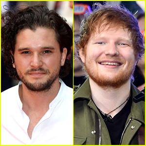 Kit Harington Met Ed Sheeran While Standing at the Urinals