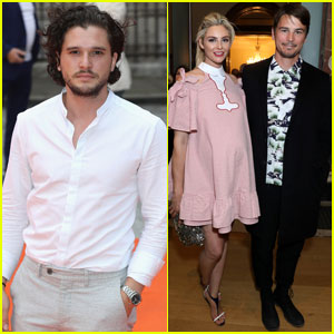 Kit Harington & Josh Hartnett Are Dapper Dudes at Royal Academy Summer Exhibition in London
