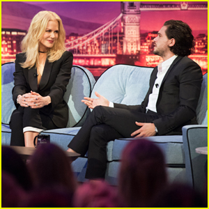 Kit Harrington Reads Love Poem To Nicole Kidman On 'Late Late Show' - Watch Here!