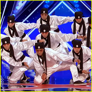Korean Dance Crew S America S Got Talent Audition Is Amazing America S Got Talent Just Jerk Just Jared
