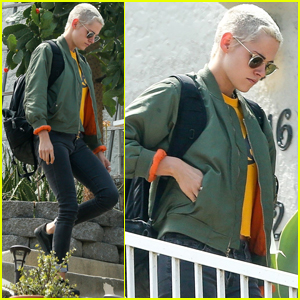 Kristen Stewart Keeps It Friendly With Ex Alicia Cargile