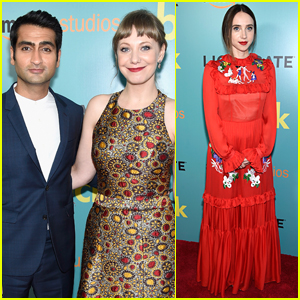 Kumail Nanjiani & Wife Emily V. Gordon Couple Up at 'The Big Sick' Premiere