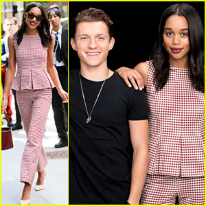 Laura Harrier Shows Off Chic Style Before 'Spider-Man' Premiere