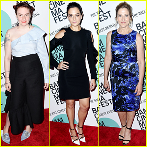 Lena Dunham Supports Former 'Girls' Co-Star Jenny Slate at 'Landline' Screening