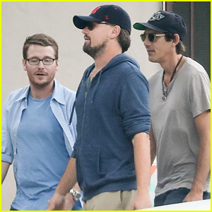 Leonardo DiCaprio Supports Tobey Maguire's Daughter with His Best Buddies!