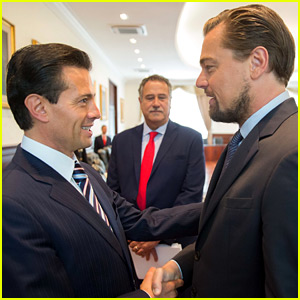 Leonardo DiCaprio Teams Up with Mexico President & Carlos Slim to Help Endangered Porpoises
