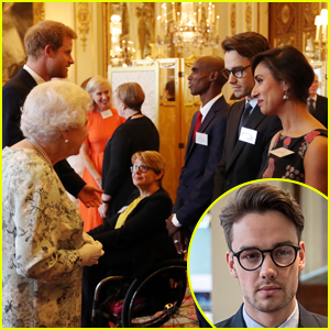 Liam Payne Meets Queen Elizabeth II & Prince Harry at 2017 Queen's Young Leaders Awards Ceremony