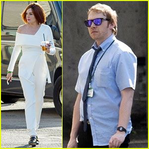 Lindsay Lohan & Rupert Grint Film British TV Series 'Sick Note'