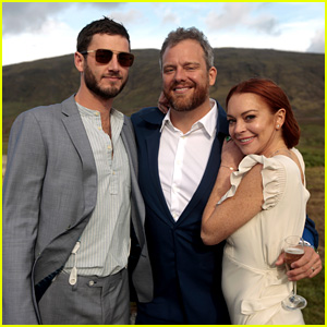 Lindsay Lohan Attends Her Friends' Wedding in Iceland!