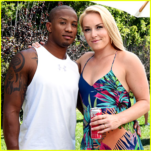 Lindsey Vonn & Her Boyfriend Couple Up at a Pool Party