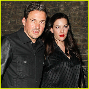 Liv Tyler & Dave Gardner Step Out for Date Night in London