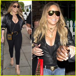 Mariah Carey Grabs a Sushi Dinner in Los Angeles