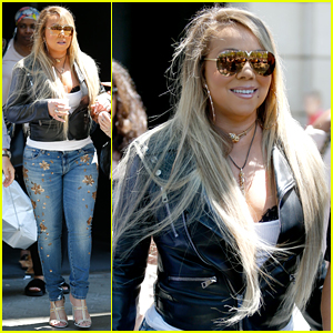 Mariah Carey Arrives in Barcelona After Sending Her Love to Nick Cannon