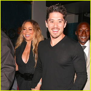 Mariah Carey & On-Again Boyfriend Bryan Tanaka Hold Hands on Date Night!