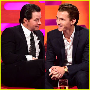 Mark Wahlberg Offers Tom Holland His Best Advice (Video)