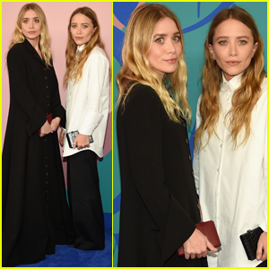Mary-Kate & Ashley Olsen Celebrate Their Nominations at CFDA Fashion Awards 2017!
