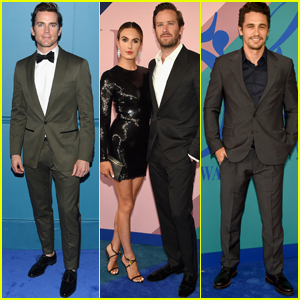 Matt Bomer, Armie Hammer & James Franco Suit Up For CDFA!