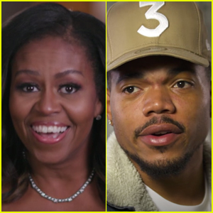 Michelle Obama Honors Chance the Rapper During Surprise BET Awards Cameo