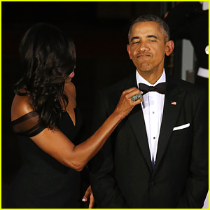 Michelle Obama Says Barack Wore the Same Tux for 8 Years!