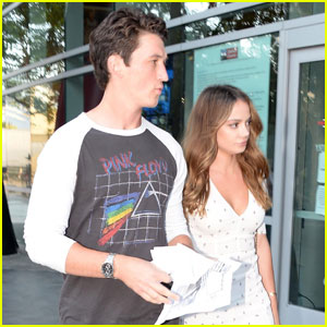 Miles Teller & Keleigh Sperry Couple Up For Roger Waters Show