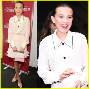 Millie Bobby Brown Attends 'Stranger Things' Screening After Wrapping Season Two