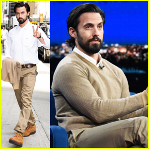 Milo Ventimiglia Talks Stripping Down On 'This Is Us' With Stephen Colbert: 'Never Skip Leg Day'