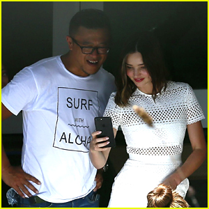 Miranda Kerr Gets Back to Work After to Her Wedding