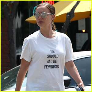 Natalie Portman Wears $710 'We Should All Be Feminists' Shirt to Support Great Cause