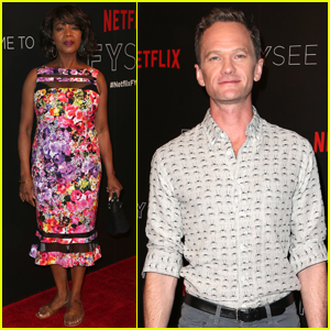 Neil Patrick Harris Supports 'Series of Unfortunate Events' at Netflix FYC Event