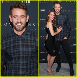 Nick Viall & 'Partner In Crime' Vanessa Grimaldi Couple Up For LoveMonster Launch!