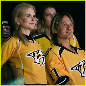 Nicole Kidman & Keith Urban Rock Jerseys at Stanley Cup Finals