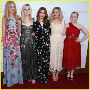 Nicole Kidman & Elle Fanning Premiere 'The Beguiled' in LA