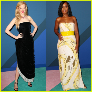 Nicole Kidman & Kerry Washington Get Glam For CFDA Awards 2017!
