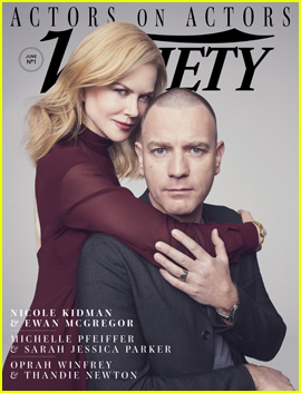 Nicole Kidman & Ewan McGregor Pair Up For Variety's Actors on Actors Issue