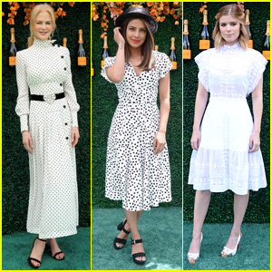 Nicole Kidman, Priyanka Chopra, & Kate Mara Spend the Day at the Veuve Clicquot Polo Event