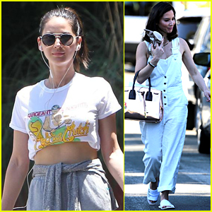 Olivia Munn Shows Off Her Toned Midriff in LA!
