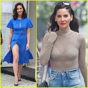 Olivia Munn Shows Off Some Serious Leg in NYC