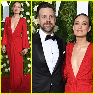 Olivia Wilde & Jason Sudeikis Make a Stylish Arrival to Tony Awards 2017