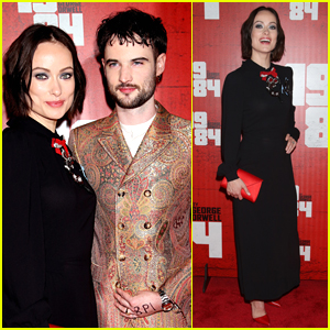 Olivia Wilde & Tom Sturridge Celebrate Opening Night of '1984'