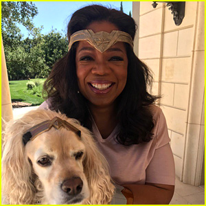 Oprah Winfrey Throws a 'Wonder Woman' Party at Her House!
