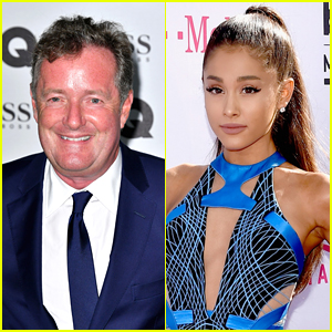 Piers Morgan Apologizes to Ariana Grande for 'Misjudging' Her After Manchester Bombing