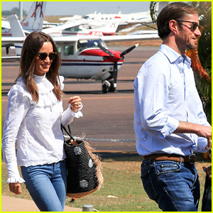 Pippa Middleton & Husband James Matthews' Honeymoon Continues in Australia!