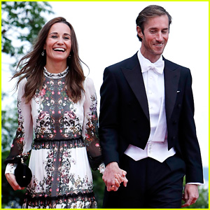 Pippa Middleton & New Husband James Matthews Are Picture Perfect at Friend's Wedding!