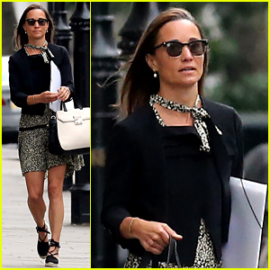 Pippa Middleton Returns Home After Her Honeymoon