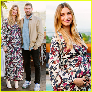 Pregnant Whitney Port Cradles Baby Bump at Her Baby Shower!